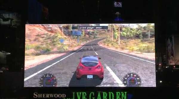 Billboard Racing Games