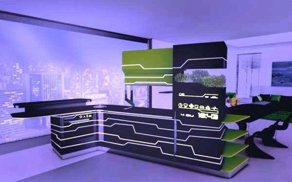 Tron Concept Kitchens