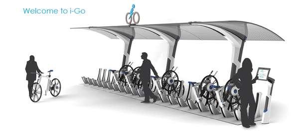 Hi-Tech Borrowed Bicycles