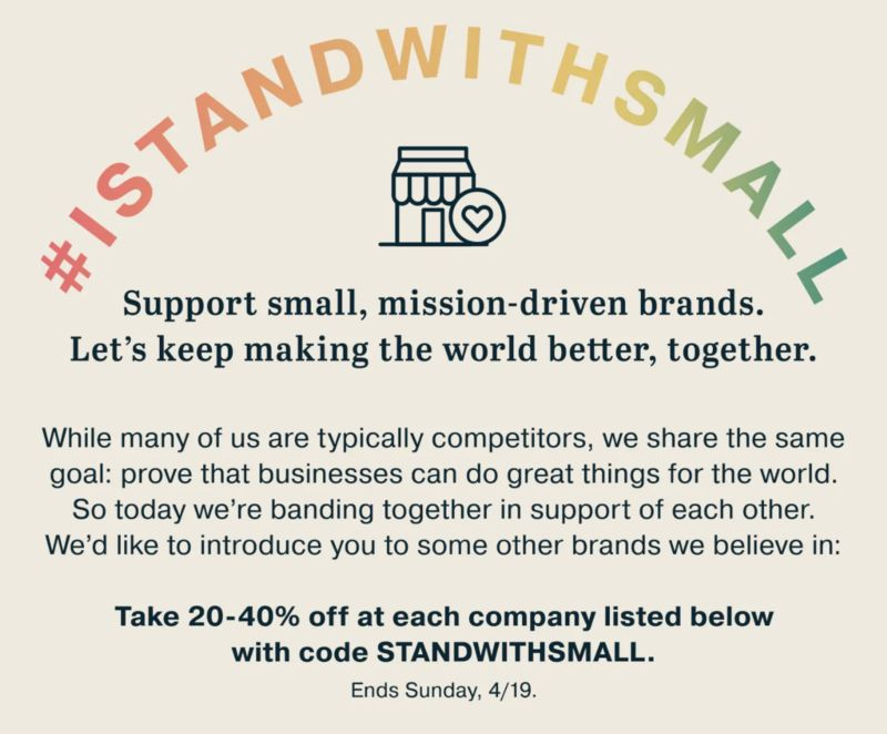 Small Business-Supporting Initiatives