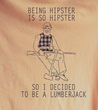 Ironic Lumberjack Tees