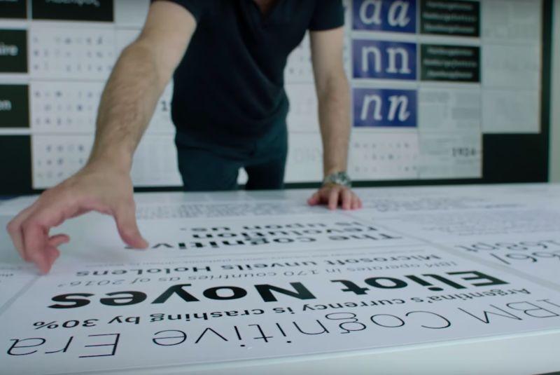 Reflective Company Typefaces : ibm plex