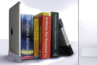 iPads as Bookends