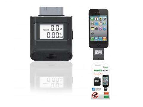 Smartphone Breathalyzer Monitors