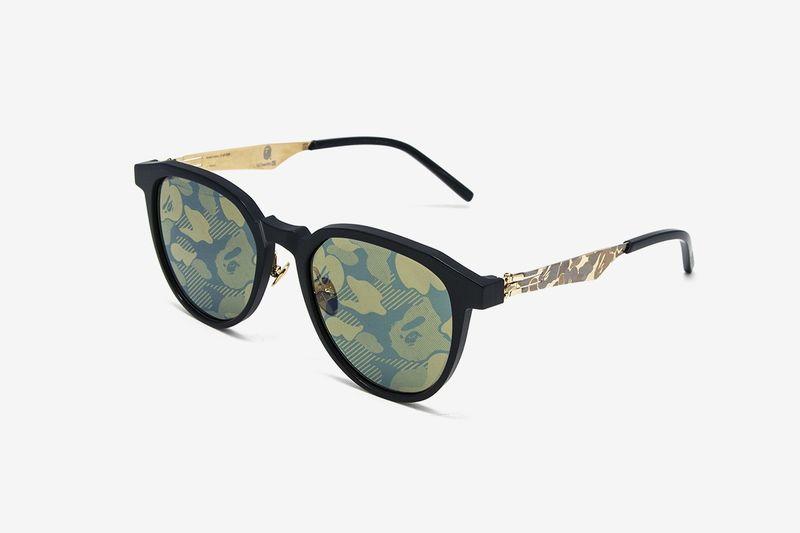 Camo-Patterned Eyewear Lenses