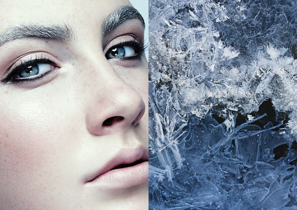Frosted Beauty Portraits