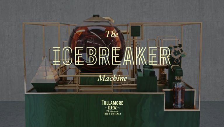Ice-Breaking Interactive Bars