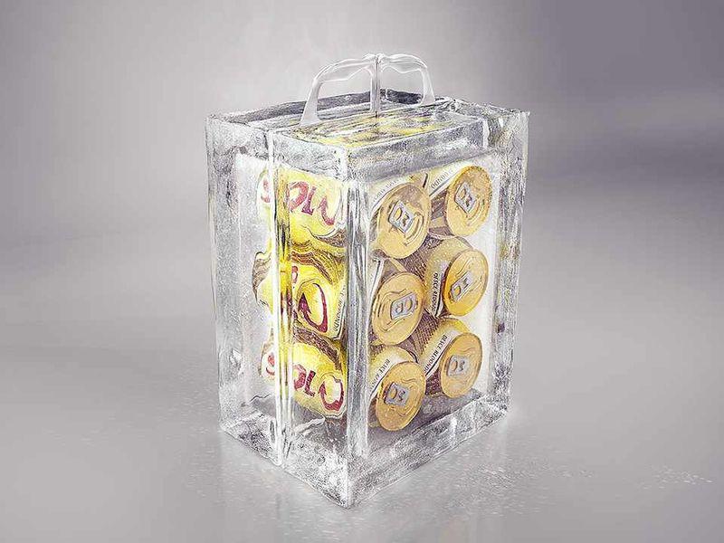 Ice Block Beer Packaging
