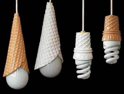 Ice Cream Cone Lights