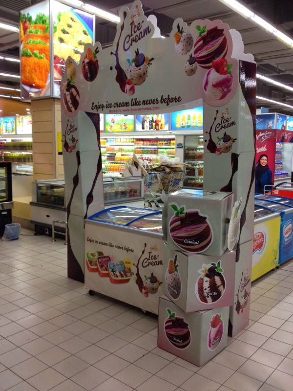 Ice Cream Display on yogurt shop design ideas