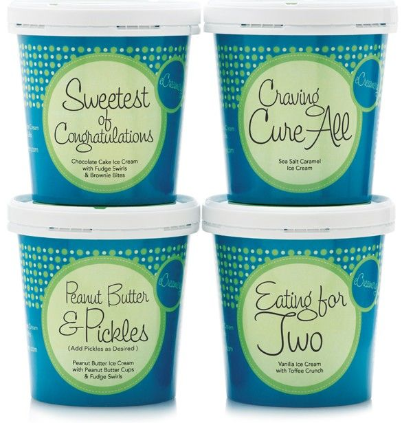 Pregnancy-Inspired Ice Cream