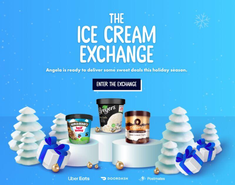 Online Ice Cream Exchanges