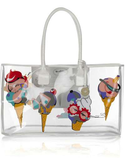 Ice Cream Totes: Clear Summer Beach Bags From Mulberry