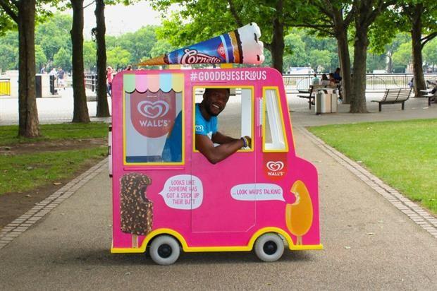 Miniature Ice Cream Trucks
