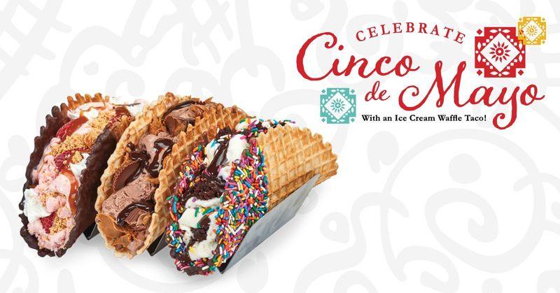 Ice Cream-Filled Tacos
