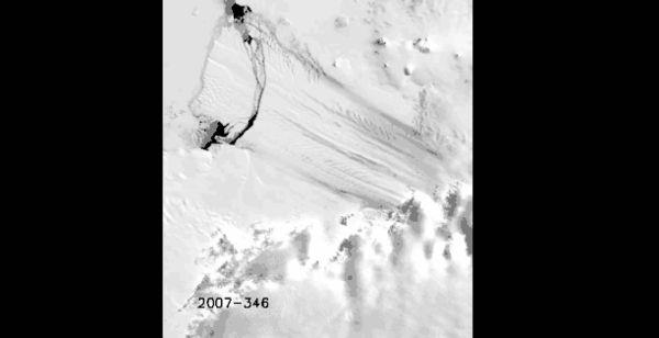 Melting Antarctic Timelapse