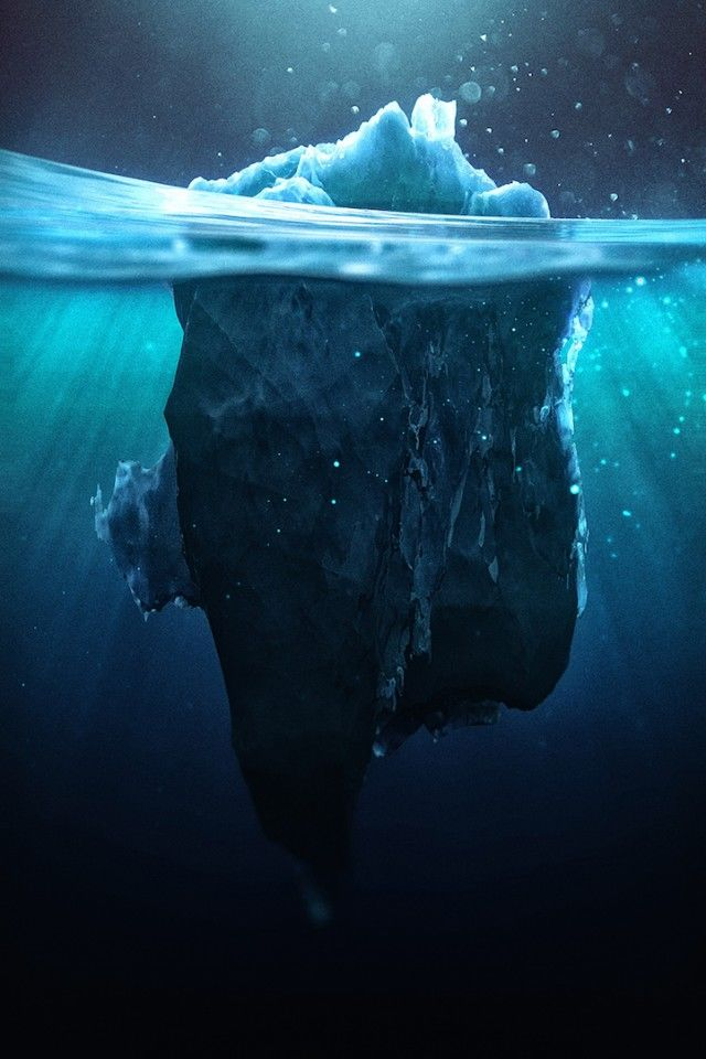 Digital Iceberg Art