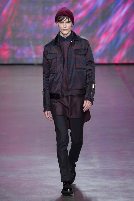 Mottled Wintry Menswear