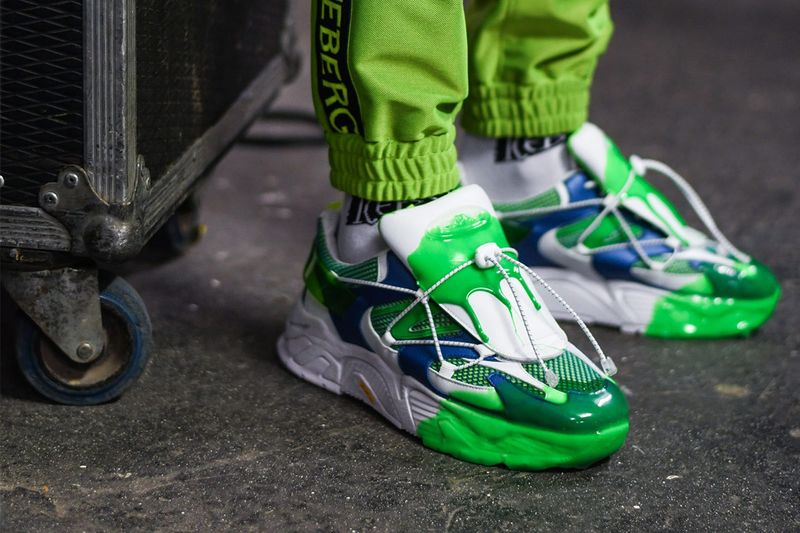 Daring Drippy Footwear Silhouettes - These Iceberg Shoes are Scheduled for Release in December (TrendHunter.com)