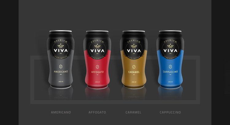 Premium Iced Coffee Packaging