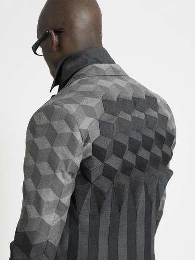 Escher Inspired Suits Ichiro Suzuki S Rca Graduate