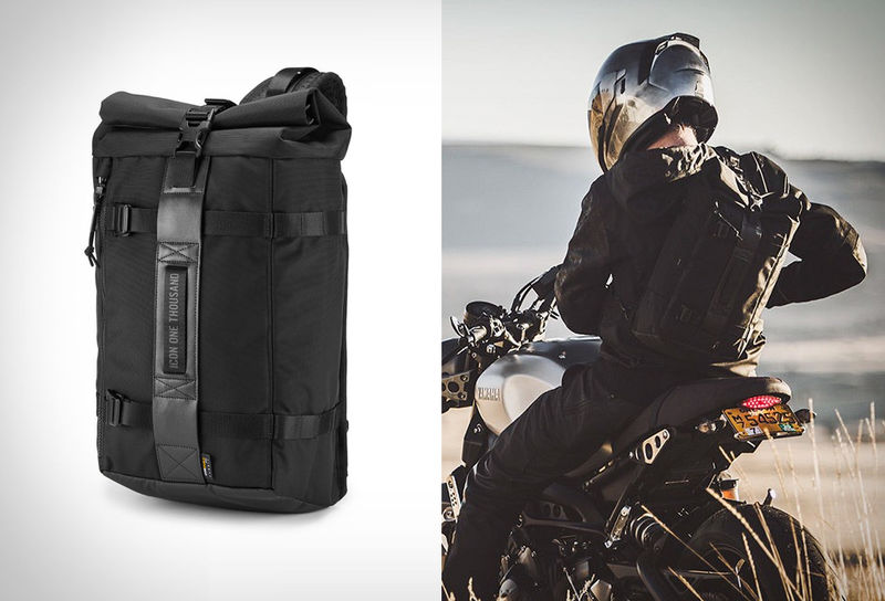 Single-Strap Motorcyclist Backpacks