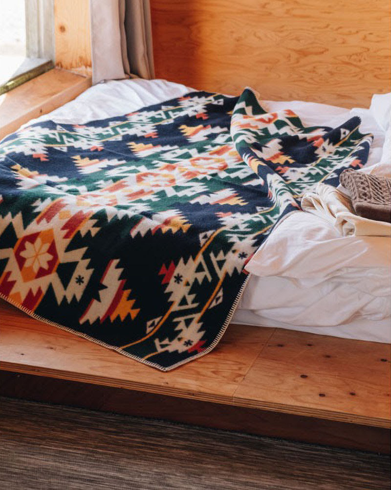 Limited-Edition Navajo-Inspired Blankets