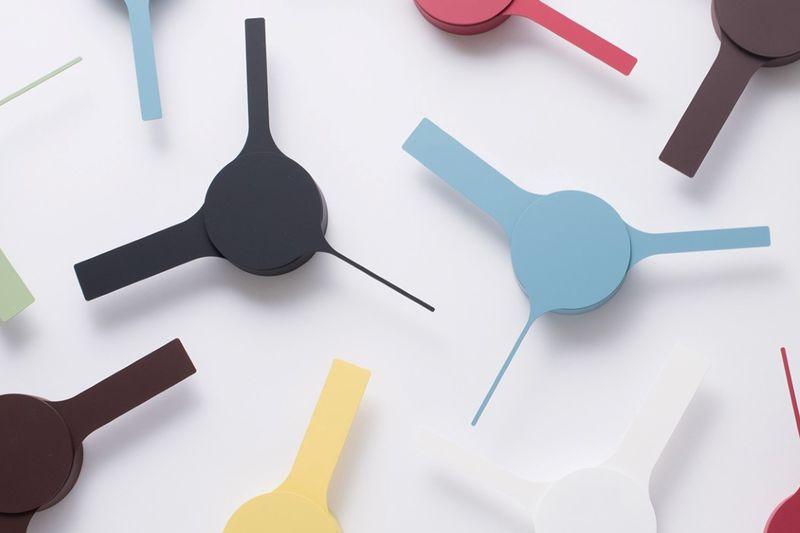 Exaggerated Minimalist Wall Clocks