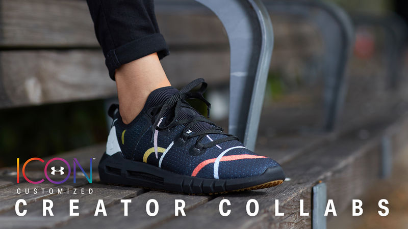 finest selection 844c7 8c71e Artist-Created Running Sneakers : ICON Creator Collabs