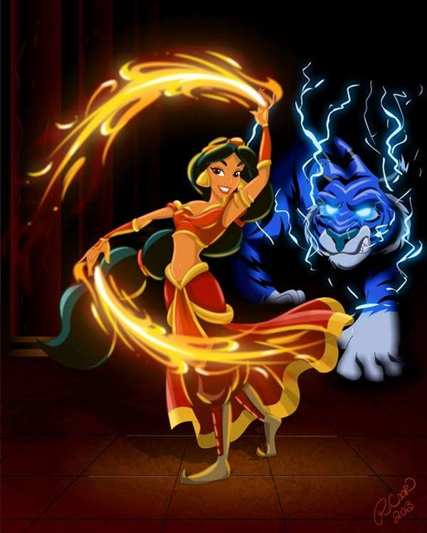 Power-Infused Disney Princesses