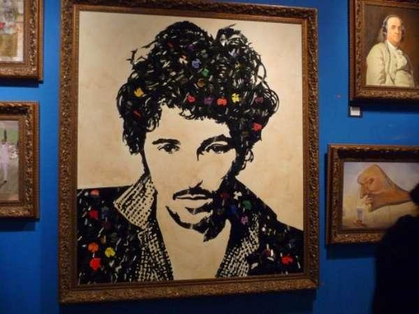 Vinyl Musician Portraits