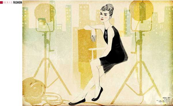 Famous Fashion Idol Illustrations