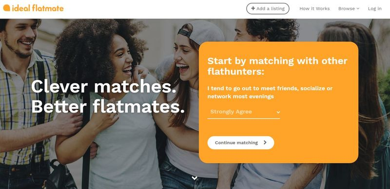 Matchmaking Roommate Platforms