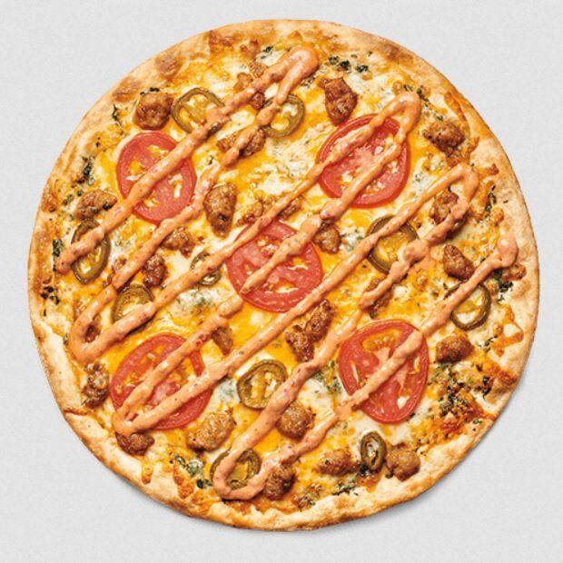 Seasoned Sausage Pizzas