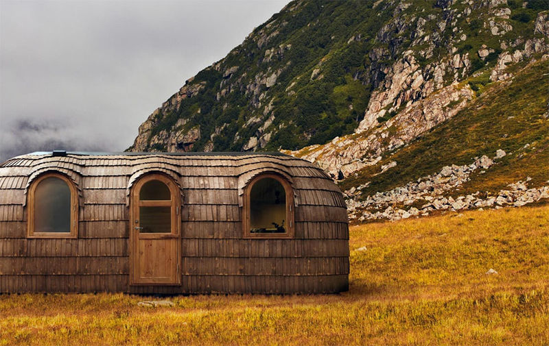 Traditional Nordic-Inspired Cabins