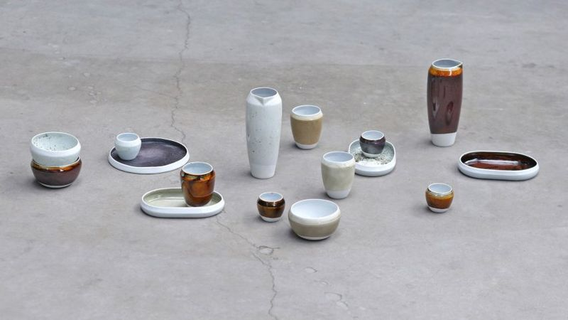 Metal Waste Ceramic Glazes