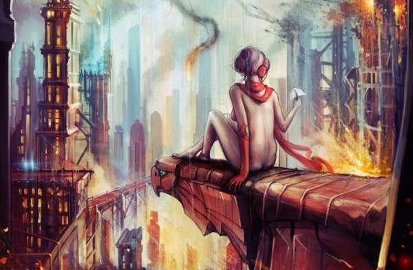 Metropolis-Inspired Illustrations