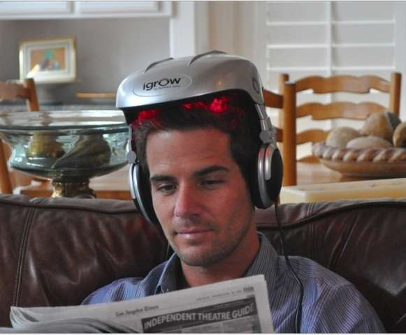 Hair-Growing Helmets