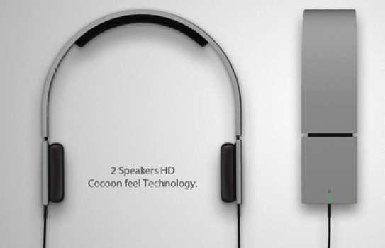 Sleek Squared Headsets