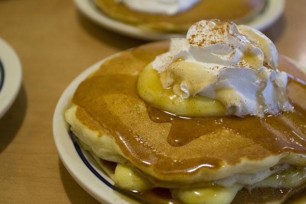 Festive Pumpkin Pancakes