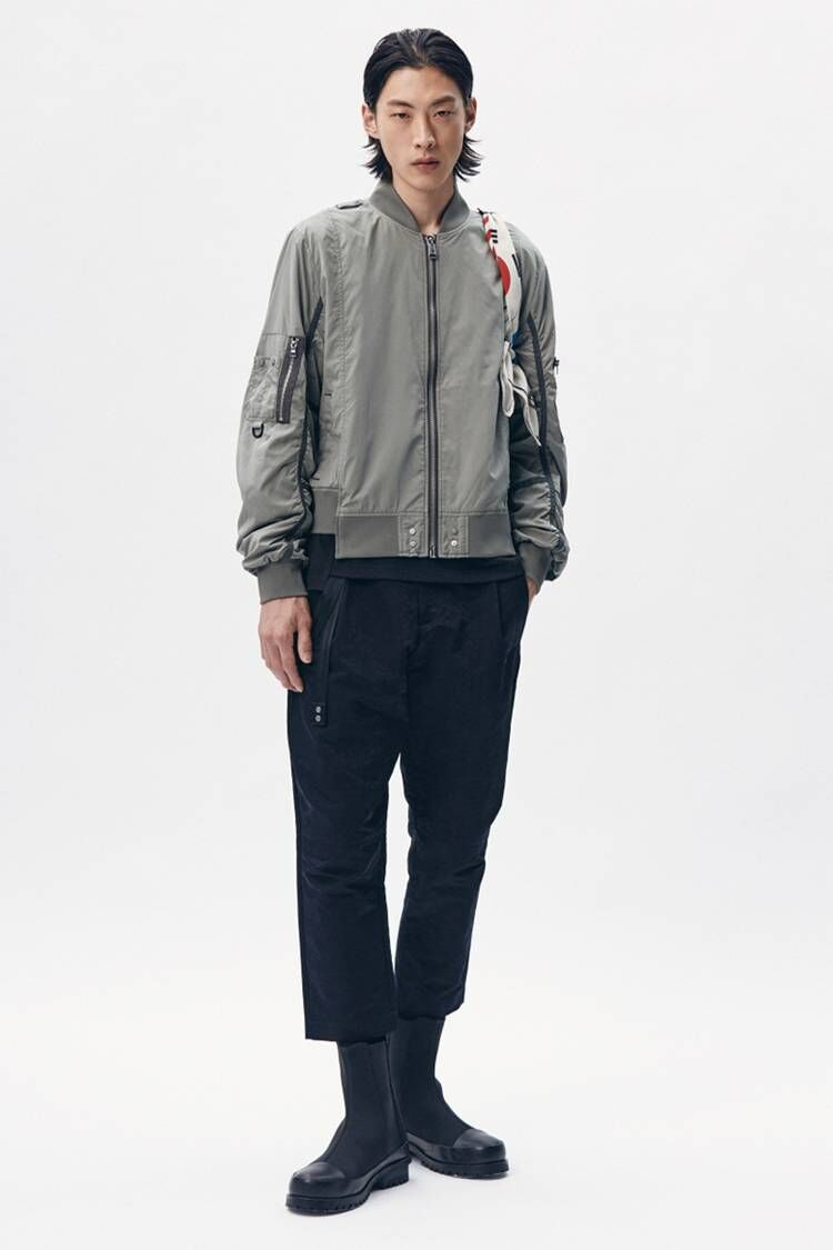 Militaristic Themed Bomber Jackets