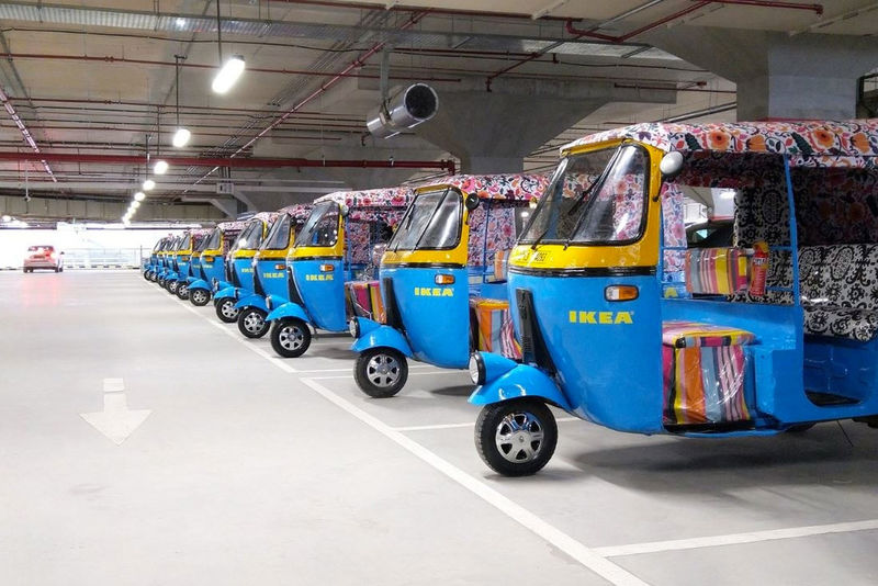 Electric Rickshaw Delivery Services