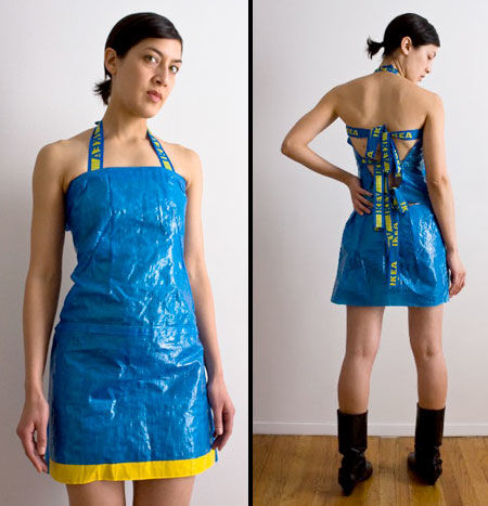 Theme interesting, Plastic bag dresses remarkable