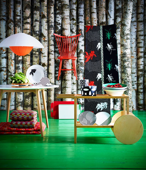 asian-inspired home decor : ikea trendig 2013