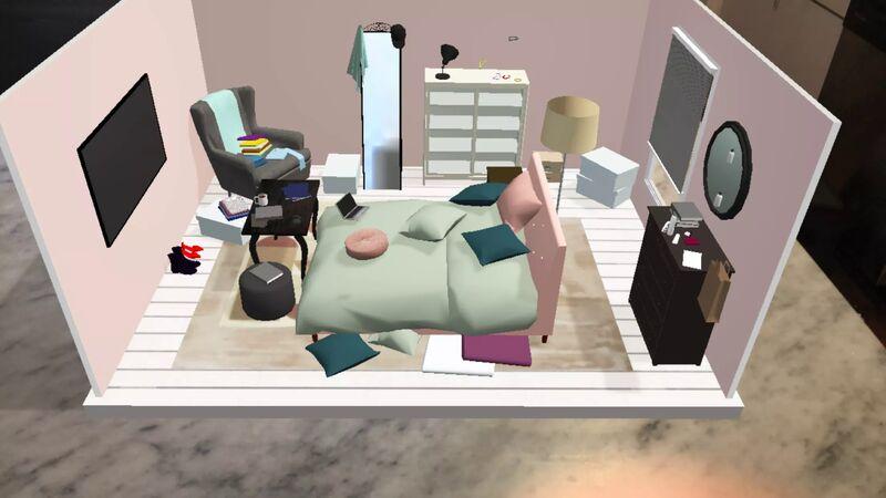 In-App Virtual Escape Rooms