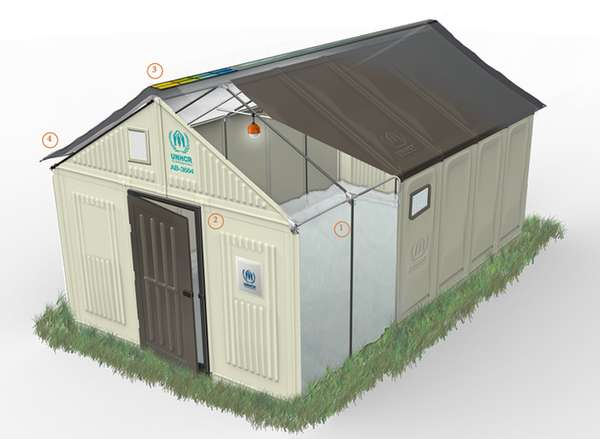 Semi-Permanent Self-Assemble Shelters