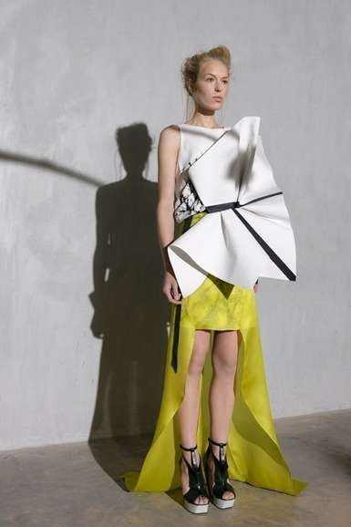 Sculptural Space-Age Couture