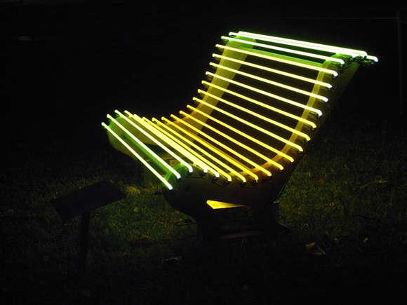 Phosphorescent Public Seating