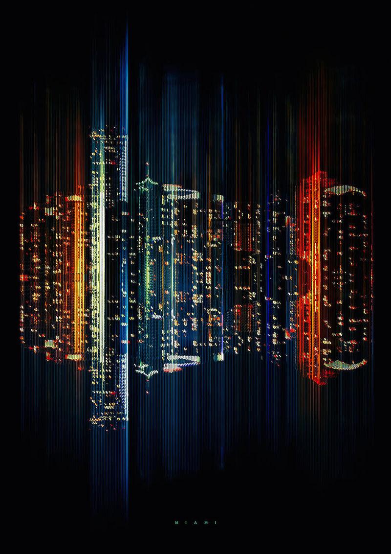 Luminescent Digital Skylines