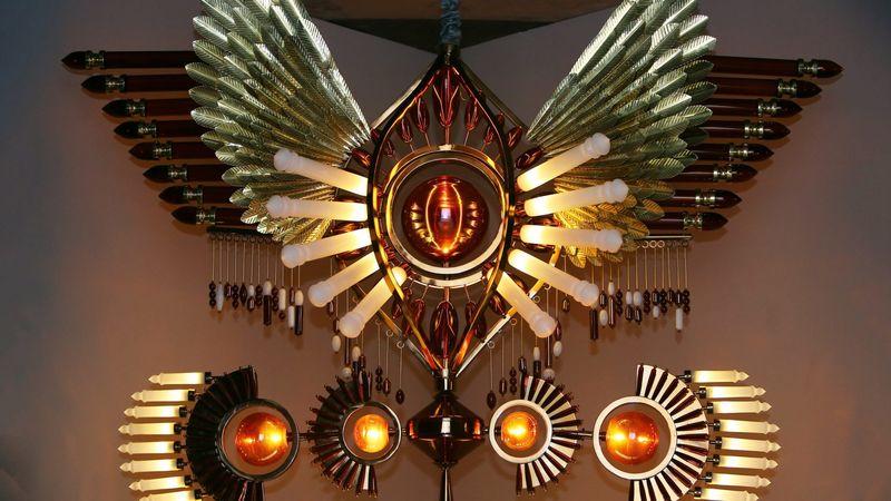 Extravagant Decorative Illuminated Totems